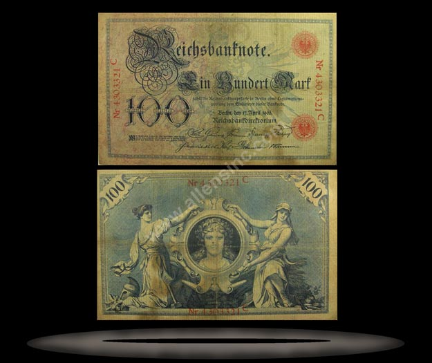 Germany Banknote, 100 Mark, 17.4.1903, P#22