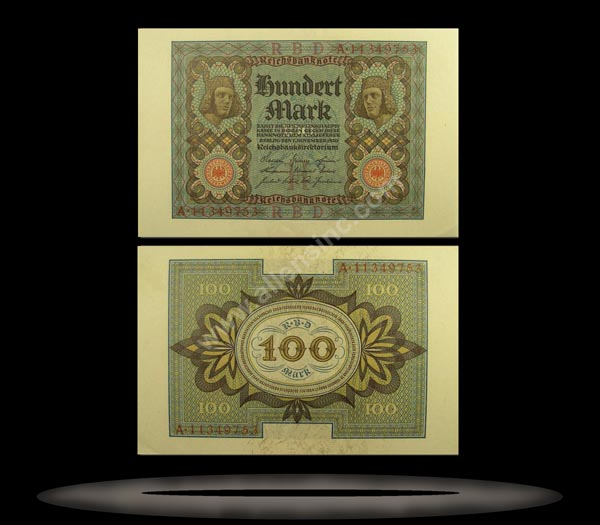 Germany Banknote, 100 Mark, 1.11.1920, P#69a
