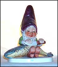 Fips The Fisherman, Goebel Co-Boy's Figurine  #508