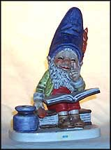 Bob The Bookworm, Goebel Co-Boy's Figurine  #510
