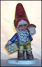 Porz The Mushroom Grower, Goebel Co-Boy's Figurine  #511