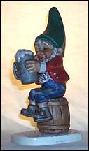 Sepp The Beer Buddy, Goebel Co-Boy's Figurine  #514