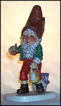 Kuni The Painter, Goebel Co-Boy's Figurine  #515