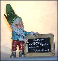 Co-Boy Plaque, Goebel Co-Boy's Figurine  #516