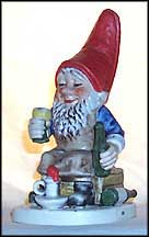 Ed The Wine Steward, Goebel Co-Boy's Figurine  #521