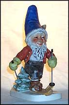 Toni The Skier, Goebel Co-Boy's Figurine  #522