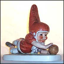 Tommy Touchdown, Goebel Co-Boy's Figurine  #530