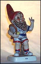 Ted The Tennis Player, Goebel Co-Boy's Figurine  #531