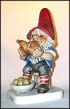 George The Gourmand, Goebel Co-Boy's Figurine  #537