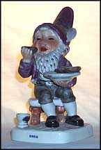 Greg The Gourmet, Goebel Co-Boy's Figurine  #538
