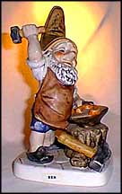 Ben The Blacksmith, Goebel Co-Boy's Figurine  #539