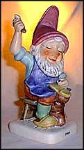 Chris The Shoemaker, Goebel Co-Boy's Figurine  #551