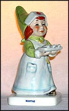 Marthe The Nurse, Goebel Co-Boy's Figurine  #553