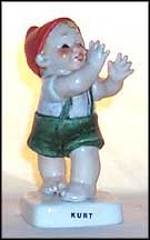 Kurt The Karate Expert, Goebel Co-Boy's Kinder Figurine  #602
