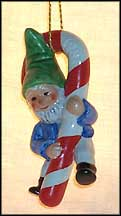1987 Co-Boy With Candy Cane, Goebel Co-Boy's Ornament  #ao87 MAIN