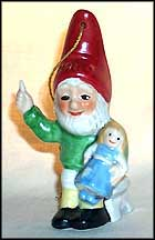 1989 Co-Boy With Doll, Goebel Co-Boy's Ornament  #ao89 MAIN
