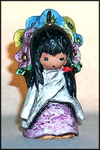 Flower Girl Ornament, Goebel Figurine by Ted DeGrazia  #102244