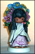 Flower Girl, Goebel Figurine by Ted DeGrazia  #103-10