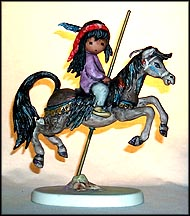 Merry Little Indian, Goebel Figurine by Ted DeGrazia  #10321-18