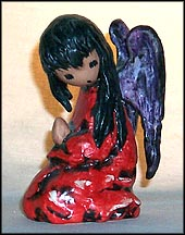 A Christmas Prayer, Goebel Figurine by Ted DeGrazia  #10329-10 MAIN
