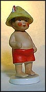 Boy At The Beach, Goebel Figurine  #10501-12