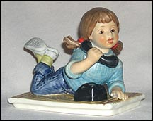 Girl Talk, Goebel Today's Children Figurine  #10714-10