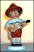Dolly Dingle's Friend Beppo, Goebel Dolly Dingle Figurine  #11464-13