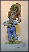 The Suitor, Goebel Amerikids Figurine by Harry Holt  #11600-14 MAIN