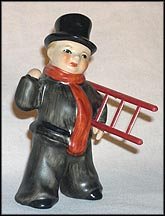 Chimney Sweep With Ladder , Goebel Figurine  #302004