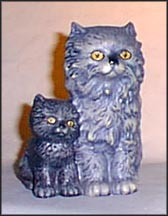 Cat with Kitten, Goebel Figurine  #31-008-12