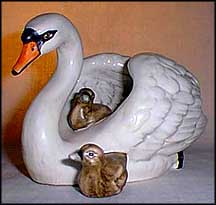 Swan and Cygnets, Goebel Figurine  #38-044-10 MAIN