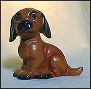Brown Puppy 1989, Goebel Figurine  #62155