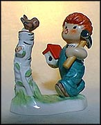 Spring Time, Goebel Figurine by Charlot Byj  #Byj 10 MAIN