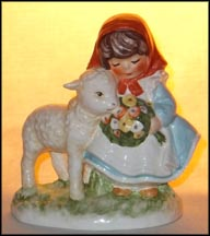 Farm Friends, Goebel Figurine by Charlot Byj  #Byj 100 MAIN