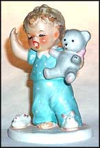 Sleepy Head, Goebel Figurine by Charlot Byj  #Byj 11