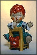 The Kibitzer, Goebel Figurine by Charlot Byj  #Byj 23