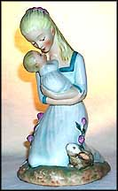 Mother Embracing Child, Goebel Figurine by Charlot Byj  #Byj 36