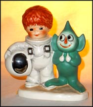 A Funny Face From Outer Space, Goebel Figurine by Charlot Byj  #Byj 91 MAIN