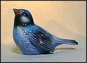 Bird - Blue, Goebel Figurine  #CV 72b MAIN