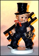 Chimney Sweep with Ladder, Goebel Figurine  #KF 38