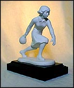 Woman Bowler - LE of 2500, Goebel Figurine by Gerhard Skrobek  #nn-wb