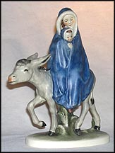 Flight Into Egypt, Goebel Figurine by Janet Robson  #Rob405A MAIN