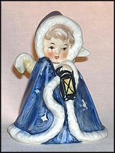 Angel With Lantern, Goebel Figurine by Janet Robson  #Rob 412 MAIN
