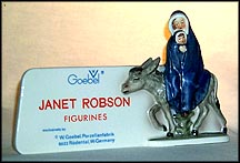 Flight Into Egypt Plaque, Goebel Figurine by Janet Robson  #Rob 434