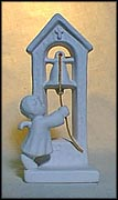 Angel Ringing Bell, Goebel Figurine by Maria Spötl  #Spo 48