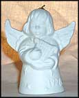 1978 Angel With Harp - White, Goebel Angel Bell
