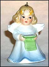 1988 Angel With Musicbook, Goebel Charlot Byj Annual Christmas Ornament MAIN