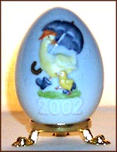 2002 Duck and Duckling, Goebel Annual Easter Egg