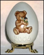 2006 Teddy Bear, Goebel Annual Easter Egg