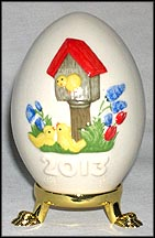 2013 Birdhouse, Goebel Annual Easter Egg